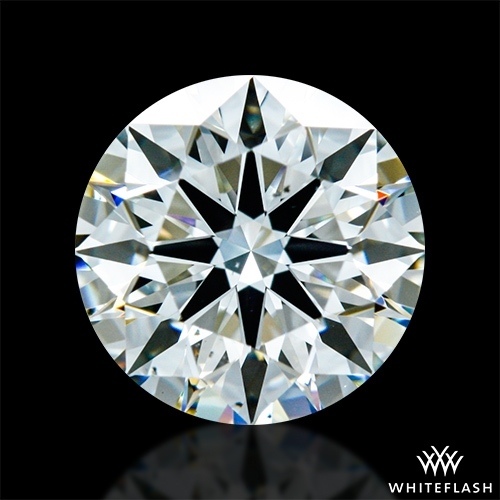 1.481 ct J VS2 A CUT ABOVE® Hearts and Arrows Super Ideal Round Cut Loose Diamond