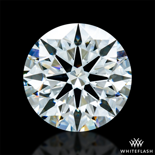 1.702 ct G VS2 A CUT ABOVE® Hearts and Arrows Super Ideal Round Cut Loose Diamond