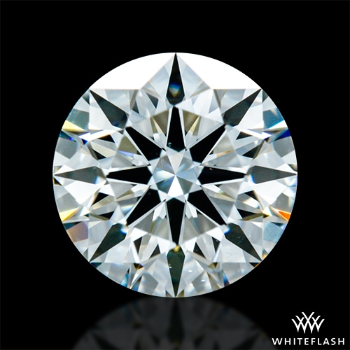 0.808 ct I VS2 A CUT ABOVE® Hearts and Arrows Super Ideal Round Cut Loose Diamond