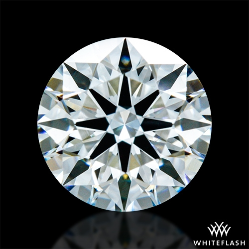 0.836 ct H VS2 A CUT ABOVE® Hearts and Arrows Super Ideal Round Cut Loose Diamond