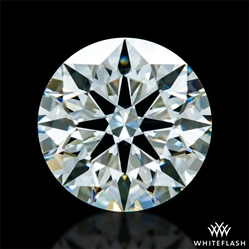 0.874 ct J SI1 A CUT ABOVE® Hearts and Arrows Super Ideal Round Cut Loose Diamond