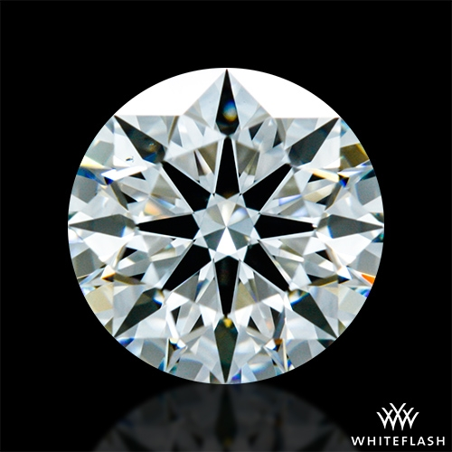 0.834 ct I VS2 A CUT ABOVE® Hearts and Arrows Super Ideal Round Cut Loose Diamond