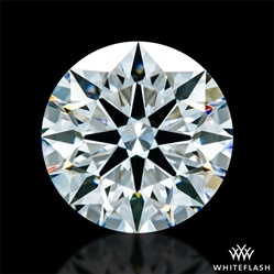 1.318 ct F VS1 A CUT ABOVE® Hearts and Arrows Super Ideal Round Cut Loose Diamond