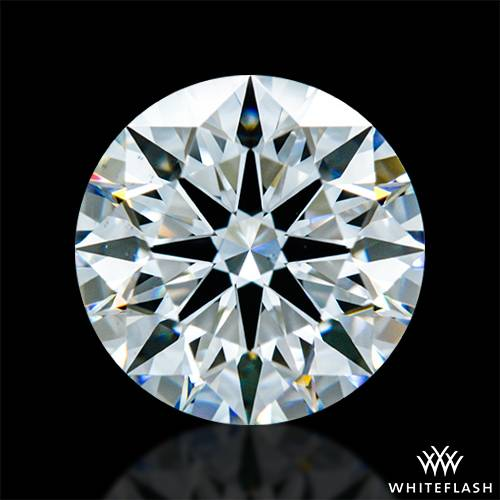 1.488 ct F VS2 A CUT ABOVE® Hearts and Arrows Super Ideal Round Cut Loose Diamond