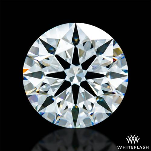 1.436 ct F VS1 A CUT ABOVE® Hearts and Arrows Super Ideal Round Cut Loose Diamond