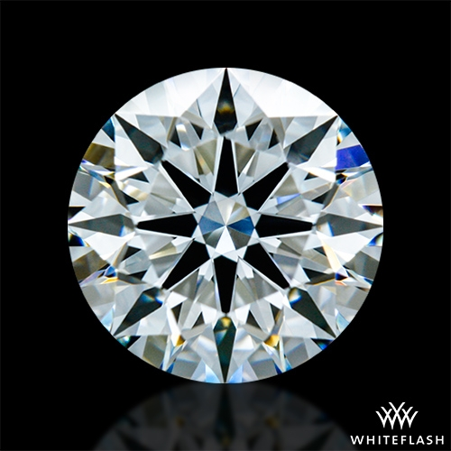 1.432 ct G VS1 A CUT ABOVE® Hearts and Arrows Super Ideal Round Cut Loose Diamond