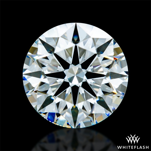 0.807 ct G VS1 A CUT ABOVE® Hearts and Arrows Super Ideal Round Cut Loose Diamond