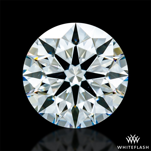 0.806 ct G VS2 A CUT ABOVE® Hearts and Arrows Super Ideal Round Cut Loose Diamond