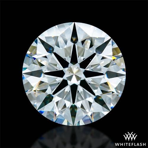 3.108 ct G VS2 A CUT ABOVE® Hearts and Arrows Super Ideal Round Cut Loose Diamond