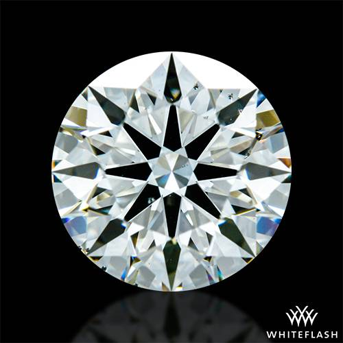 1.532 ct J VS2 A CUT ABOVE® Hearts and Arrows Super Ideal Round Cut Loose Diamond