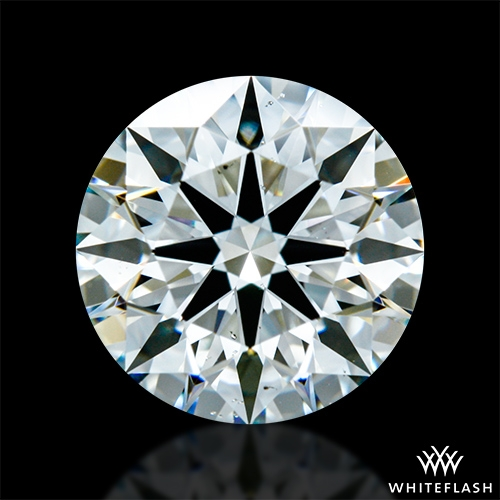 1.283 ct H VS2 A CUT ABOVE® Hearts and Arrows Super Ideal Round Cut Loose Diamond