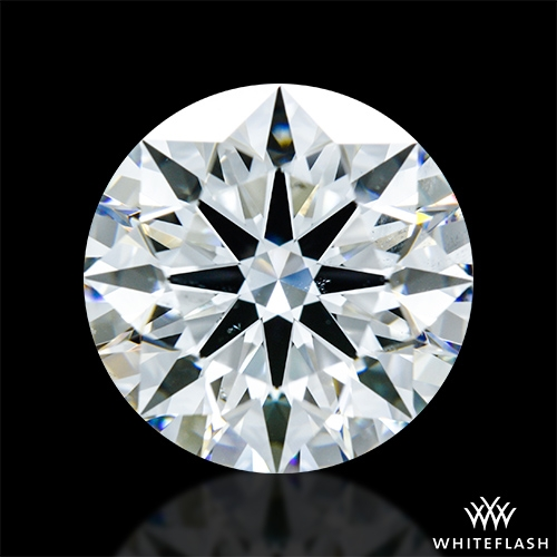 2.514 ct G SI1 A CUT ABOVE® Hearts and Arrows Super Ideal Round Cut Loose Diamond