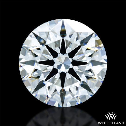 0.635 ct F VS2 A CUT ABOVE® Hearts and Arrows Super Ideal Round Cut Loose Diamond