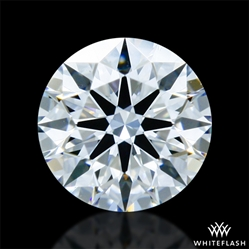 0.313 ct E VS2 A CUT ABOVE® Hearts and Arrows Super Ideal Round Cut Loose Diamond