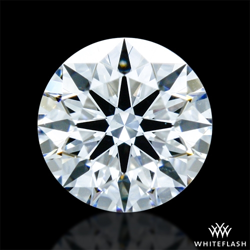 0.33 ct E VS2 A CUT ABOVE® Hearts and Arrows Super Ideal Round Cut Loose Diamond