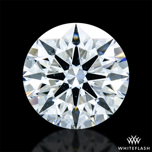 0.412 ct F VS2 A CUT ABOVE® Hearts and Arrows Super Ideal Round Cut Loose Diamond