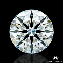 0.418 ct H VS2 A CUT ABOVE® Hearts and Arrows Super Ideal Round Cut Loose Diamond