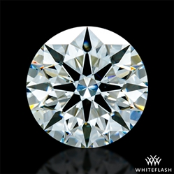 1.025 ct H VS2 A CUT ABOVE® Hearts and Arrows Super Ideal Round Cut Loose Diamond
