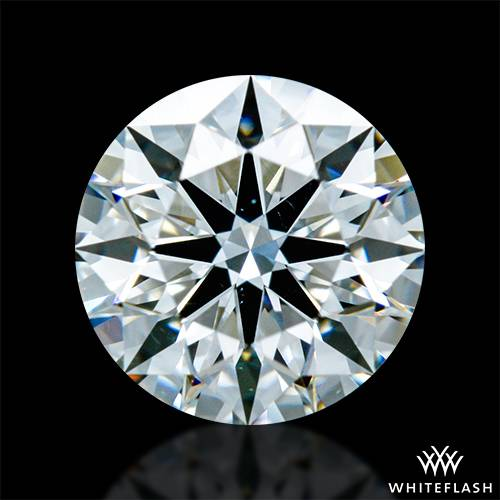 0.814 ct G VS2 A CUT ABOVE® Hearts and Arrows Super Ideal Round Cut Loose Diamond