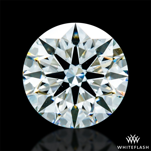 0.846 ct H VS2 A CUT ABOVE® Hearts and Arrows Super Ideal Round Cut Loose Diamond