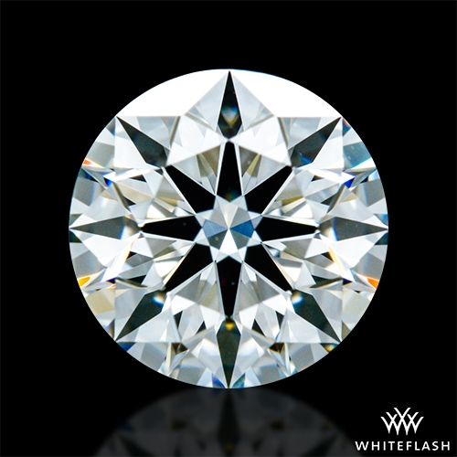 0.908 ct G VVS2 A CUT ABOVE® Hearts and Arrows Super Ideal Round Cut Loose Diamond