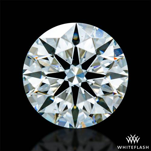 0.934 ct G VS2 A CUT ABOVE® Hearts and Arrows Super Ideal Round Cut Loose Diamond