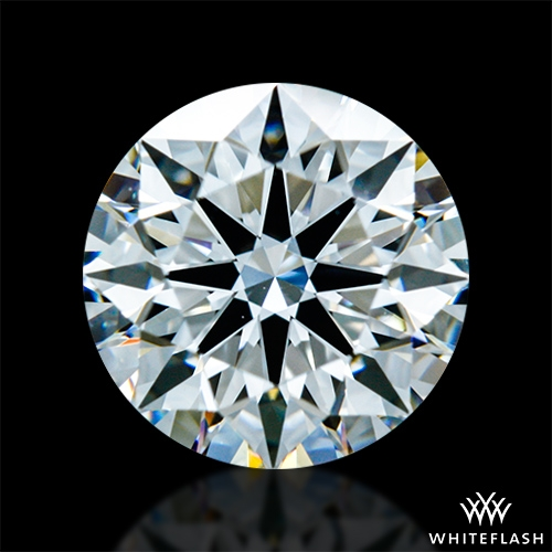 1.121 ct F VS1 A CUT ABOVE® Hearts and Arrows Super Ideal Round Cut Loose Diamond