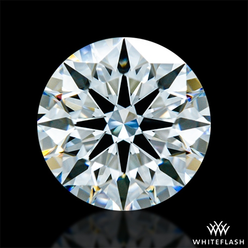 1.202 ct F VVS1 A CUT ABOVE® Hearts and Arrows Super Ideal Round Cut Loose Diamond