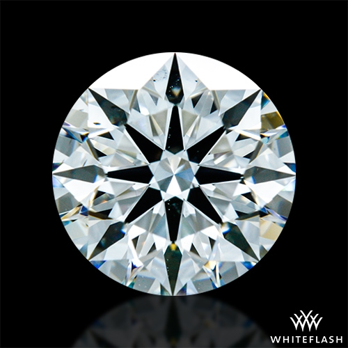 1.466 ct G VS2 A CUT ABOVE® Hearts and Arrows Super Ideal Round Cut Loose Diamond