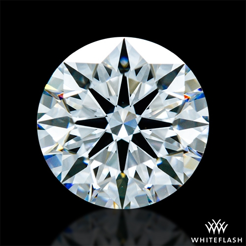 1.461 ct E VS1 A CUT ABOVE® Hearts and Arrows Super Ideal Round Cut Loose Diamond