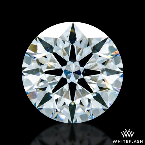1.584 ct F VS1 A CUT ABOVE® Hearts and Arrows Super Ideal Round Cut Loose Diamond