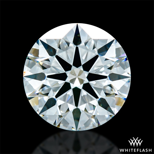 1.218 ct G VS2 A CUT ABOVE® Hearts and Arrows Super Ideal Round Cut Loose Diamond
