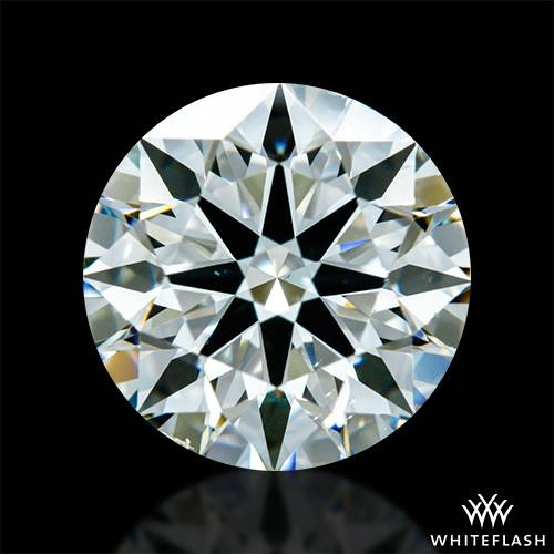 1.43 ct J VS2 A CUT ABOVE® Hearts and Arrows Super Ideal Round Cut Loose Diamond
