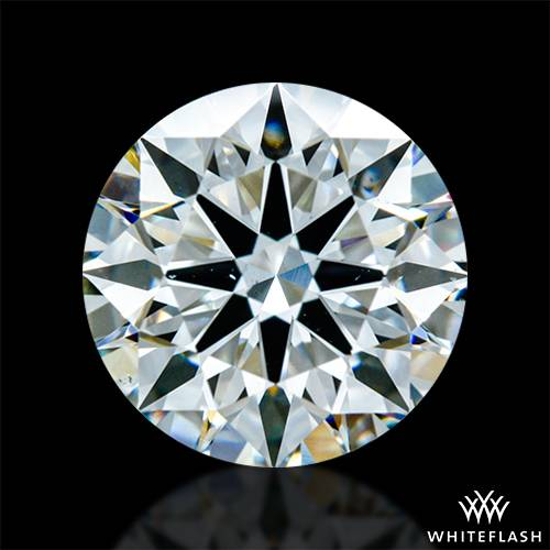1.151 ct H VS2 A CUT ABOVE® Hearts and Arrows Super Ideal Round Cut Loose Diamond