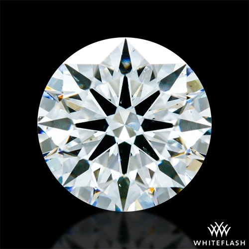 0.732 ct F SI1 A CUT ABOVE® Hearts and Arrows Super Ideal Round Cut Loose Diamond