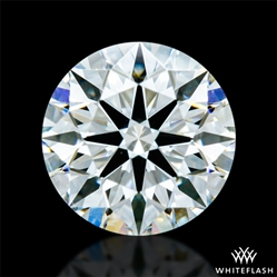 0.368 ct H SI1 A CUT ABOVE® Hearts and Arrows Super Ideal Round Cut Loose Diamond
