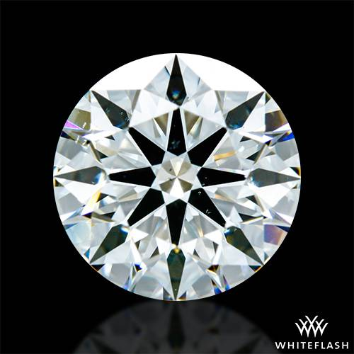 1.578 ct I SI1 A CUT ABOVE® Hearts and Arrows Super Ideal Round Cut Loose Diamond