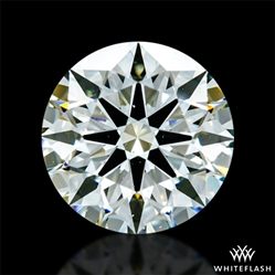 1.31 ct K SI1 A CUT ABOVE® Hearts and Arrows Super Ideal Round Cut Loose Diamond