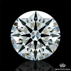 0.821 ct I VS2 A CUT ABOVE® Hearts and Arrows Super Ideal Round Cut Loose Diamond