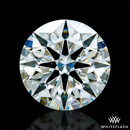 0.82 ct H SI1 A CUT ABOVE® Hearts and Arrows Super Ideal Round Cut Loose Diamond