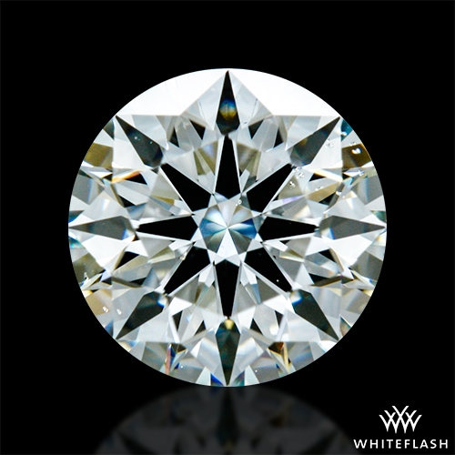 0.86 ct J VS2 A CUT ABOVE® Hearts and Arrows Super Ideal Round Cut Loose Diamond
