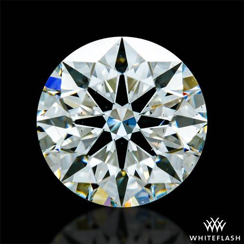 0.901 ct I SI1 A CUT ABOVE® Hearts and Arrows Super Ideal Round Cut Loose Diamond