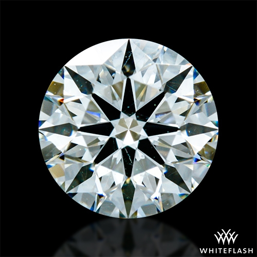 0.928 ct H SI1 A CUT ABOVE® Hearts and Arrows Super Ideal Round Cut Loose Diamond
