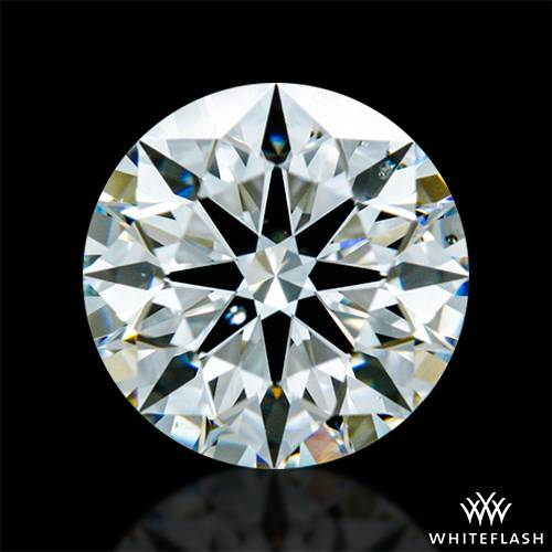 0.93 ct G SI1 A CUT ABOVE® Hearts and Arrows Super Ideal Round Cut Loose Diamond