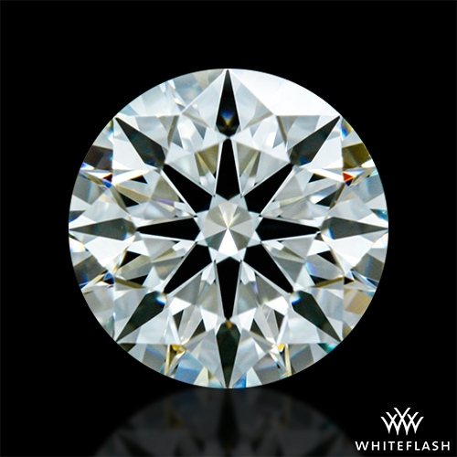 0.713 ct J VS1 A CUT ABOVE® Hearts and Arrows Super Ideal Round Cut Loose Diamond
