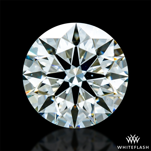 0.714 ct H VS1 A CUT ABOVE® Hearts and Arrows Super Ideal Round Cut Loose Diamond