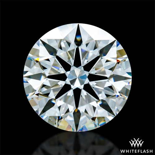 0.751 ct E VVS1 A CUT ABOVE® Hearts and Arrows Super Ideal Round Cut Loose Diamond