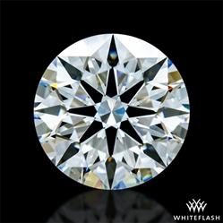 0.751 ct E VVS1 A CUT ABOVE® Hearts and Arrows Super Ideal Round Cut Loose Diamond