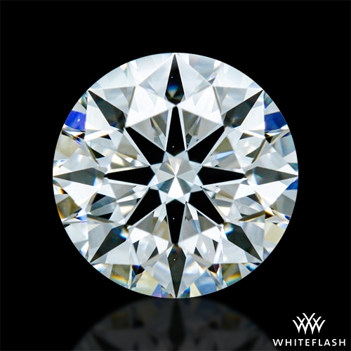 0.775 ct E VVS2 A CUT ABOVE® Hearts and Arrows Super Ideal Round Cut Loose Diamond