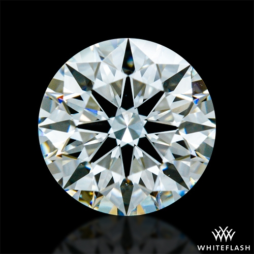 0.761 ct G VS2 A CUT ABOVE® Hearts and Arrows Super Ideal Round Cut Loose Diamond